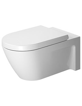 Starck 2 360 x 620mm Wall mounted Toilet - EX DISPLAY