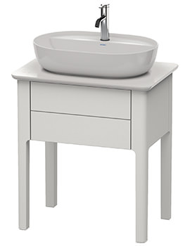 Luv 638 x 450mm 1 Compartment Vanity Unit