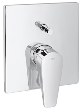 Esmai Built-In Bath-Shower Mixer Valve With Automatic Diverter