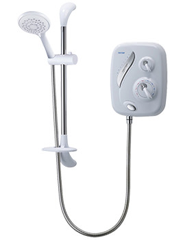 Triton AS2000XT White and Chrome Thermostatic Power Shower