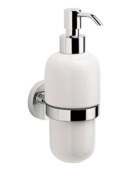 Crosswater Central Soap Dispenser - CE011C - Image