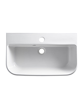Cover Slim Semi-Countertop Basin White