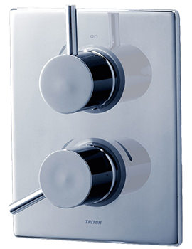 Elina Thermostatic Dual Control Valve With Diverter
