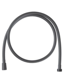 Relexaflex 1500mm Velvet Black Metal Hose