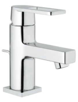 Quadra Deck Mounted Basin Mixer Tap With Pop-Up Waste
