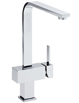 Square Side Action Kitchen Sink Mixer Tap