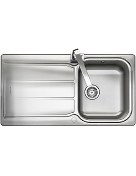 Glendale 1.0 Bowl Stainless Steel Kitchen Sink