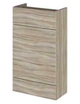 Hudson Reed Compact 500 x 255mm Driftwood WC Unit