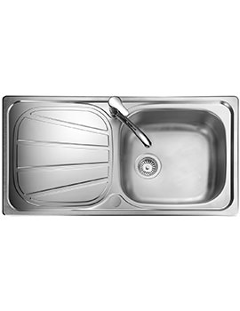 Baltimore Stainless Steel 1.0 Bowl Kitchen Sink