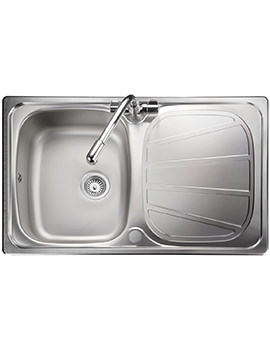 Baltimore Compact 1.0 Bowl Stainless Steel Kitchen Sink