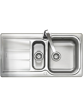 Glendale 1.5 Bowl Stainless Steel Kitchen Sink