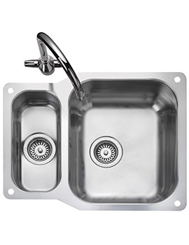 Atlantic Classic 1.5 Bowl Undermount Kitchen Sink - Reversible