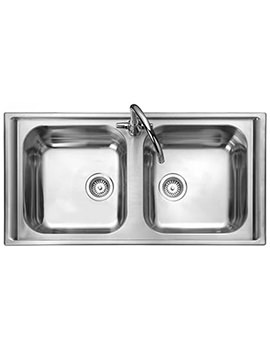 Manhattan 2.0 Bowl Stainless Steel Kitchen Sink - MN10105