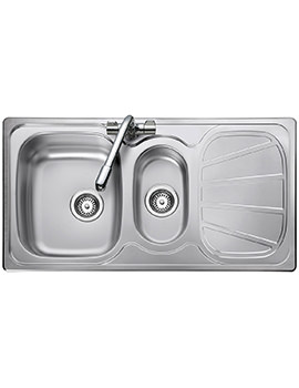Baltimore 1.5 Bowl Stainless Steel Kitchen Sink