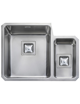 Atlantic Quad 1.5 Bowl Undermount Kitchen Sink Right Hand