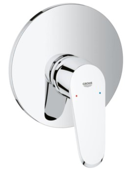 Grohe Eurodisc Cosmopolitan Single-Lever Chrome Shower Mixer Trim Without Diverter