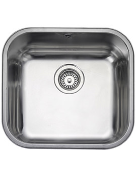 Atlantic Classic 1 Bowl Undermount Kitchen Sink 490mm