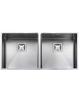 Rangemaster Atlantic Kube 2.0 Bowl Stainless Steel Undermount Kitchen Sink