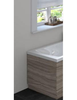 Hudson Reed 750mm Driftwood Bath End Panel With Plinth