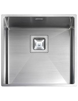 Atlantic Kube 1.0 Bowl Undermount Kitchen Sink 430 x 430mm