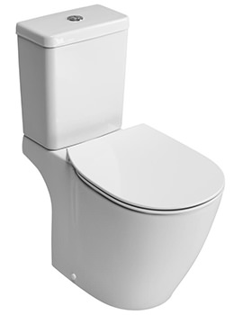 Concept Cube Aquablade Close Coupled WC Pan 665mm