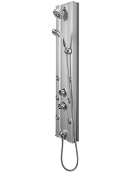 Ripple Thermostatic Shower Panel