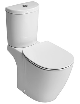Ideal Standard Concept Arc Aquablade Close Coupled WC Pan 665mm