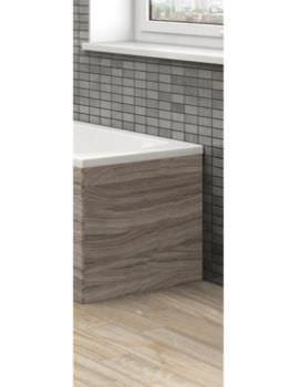 Hudson Reed 700mm Driftwood Shower Bath End Panel