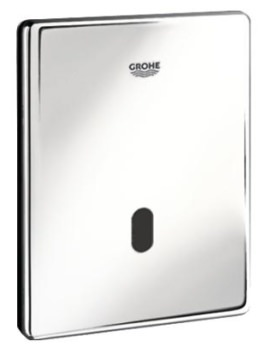 Grohe Tectron Skate Infra-Red Electronic Flush Plate for Urinal Chrome