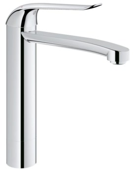 Euroeco Special Single Lever Deck Mounted Basin Mixer Tap