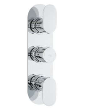 Reign Triple Concealed Thermostatic Shower Valve With Diverter