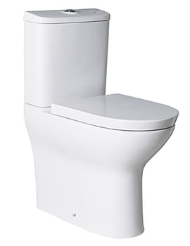 Roca Colina Comfort Height BTW Close Coupled WC With Cistern And Seat