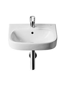 Debba 350 x 300mm Wall Hung Basin With 1 Tap Hole