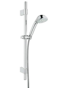 Relexa 100 Five Spray Pattern Shower Rail Set
