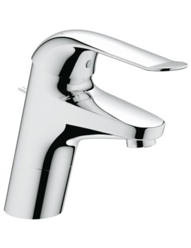 Euroeco Special Deck Mounted Basin Mixer Tap With Pop-Up Waste
