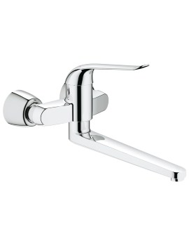 Euroeco Special Wall Mounted Single Lever Basin Mixer Tap