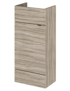 Hudson Reed Compact 400 x 255mm Driftwood Vanity Unit