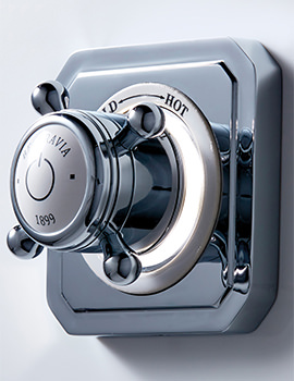Belgravia Crosshead Digital 1 Outlet Shower Valve With Processor