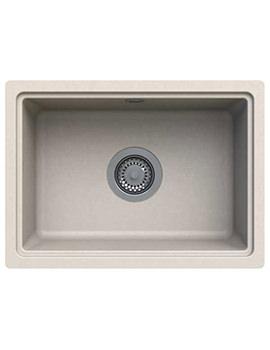 Astracast Askwith 500 x 363mm ROK Granite Sahara Beige 1B Undermount Sink
