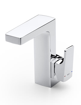 L90 Side Handle Basin Mixer Tap With Pop-Up Waste