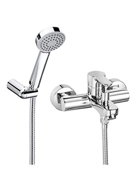 L20 Wall Mounted Bath Shower Mixer Tap And Kit