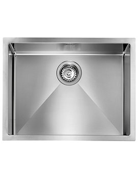 Svelte 570 x 450mm Stainless Steel 1.0 Bowl Undermount Sink
