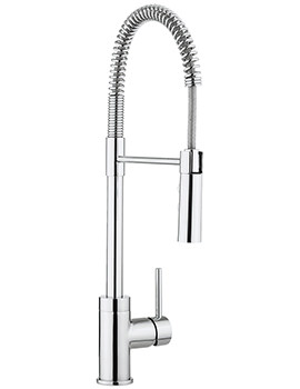 Cucina Cook Single Lever Kitchen Sink Mixer Tap With Flexi Spray