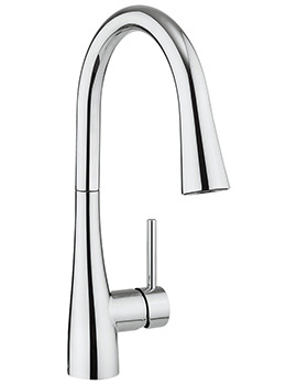 Cucina Cook Side Lever Sink Mixer Tap With Dual Function Spray