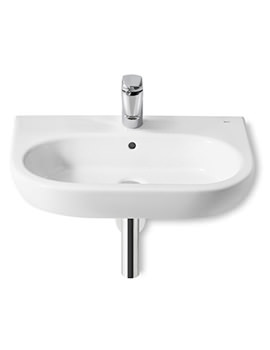 Meridian-N 650 x 460mm Wall Hung Basin With 1 Taphole