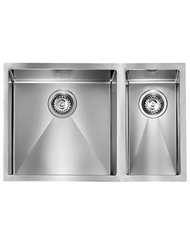 Svelte 690 x 450mm Stainless Steel 1.5 Bowl Undermount Sink