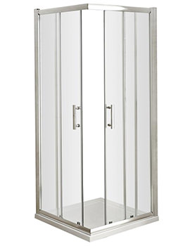 Nuie Premier Pacific Corner Entry 760 x 760mm Shower Enclosure - Image
