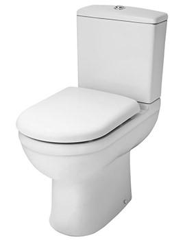 Lauren Ivo Close Coupled Comfort Height 450mm WC Set