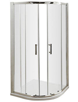 Nuie Premier Pacific 800 x 800mm Quadrant Shower Enclosure - Image