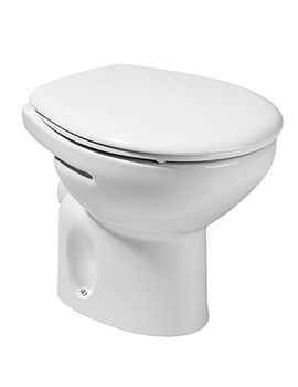 Laura Low Level WC Pan With Horizontal Outlet